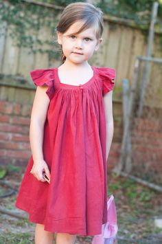 Remember this little Valentine's Day frock ? My little one has worn this dress 6 out of the 7 days that the dress has existed. She abso...