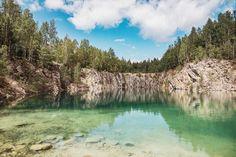 Uskavi Kalkbrott - en badpärla i Bergslagen (Västmanland) | Oh darling, let's be adventurers Lappland, Berg, Travel Inspiration, Places To Go, Adventure, Mountains, Semester, Country, Nature
