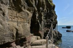 Pleased to hear today that The Gobbins cliff path will be open in time for May Day! Titanic Exhibition, May Days, Greatest Adventure, Belfast, Great View, Northern Ireland, Tour Guide, Geology, Paths