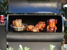 Go Beyond Beer-Can Chicken : A whole bird on the grill is one of the best things you can hope to eat this summer. Juicy, smoky and crispy-skinned, it pleases a party of wing, breast and thigh lovers all in one go.  Pro tip: Just as you do with a steak, let these whole chickens rest for 20 minutes or more for the juiciest results.