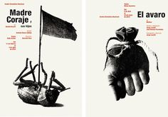 Los carteles del CDN: Estudio Javier Jaén Vs Isidro Ferrer - SLEEPYDAYS Massimo Vignelli, Graphic Art, Graphic Design, Creative Posters, Collages, Print Design, Editorial, Typography, Illustration