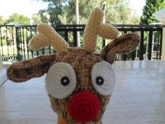 Baby Rudolph Hat Now For Sale In My Etsy Shop MarilynsCreation