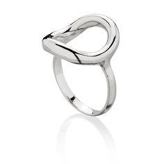 Pierścionek karma wykonany ze srebra próby 925 #ring #karma #jewelry #jewellery #latienne #silver