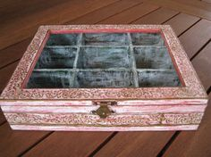 Hey, I found this really awesome Etsy listing at https://www.etsy.com/listing/214150432/handmade-wooden-tea-boxdecoupage-pink