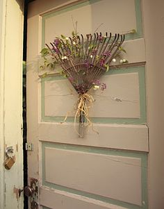 old rake wreath