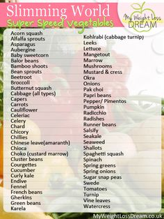 Slimming world speed vegs astuce recette minceur girl world world recipes world snacks Slimming World Shopping List, Slimming World Speed Food, Slimming World Recipes Syn Free, Slimming World Plan, Slimming Eats, Slimming World Syns List, Slimming World Healthy Extras, Slimming World Groups, Real Simple