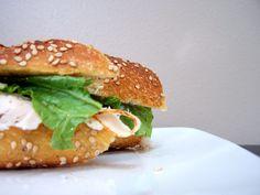 Classic turkey sandwich on Italian bread! Turkey Sandwiches, Italian Bread, Salmon Burgers, Chicken, Classic, Ethnic Recipes, Food, Derby, Essen