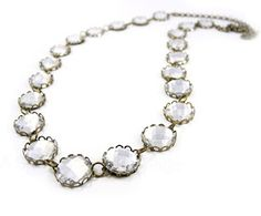 J.Crew Inspired Crystal Necklace DIY