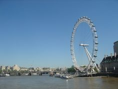 London, England- to ride the London EYE