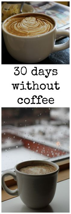 Thinking about giving up coffee? I went a month without coffee (and more). Here's what happened and tips if you want to do it too. Raw Food Recipes, Vegan Food, Healthy Recipes, Sustainable Food, Vegan Blogs, Vegan Lifestyle, Diet And Nutrition, Going Vegan, Yummy Drinks
