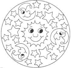 25 mejores imágenes de mandalas para colorear niños