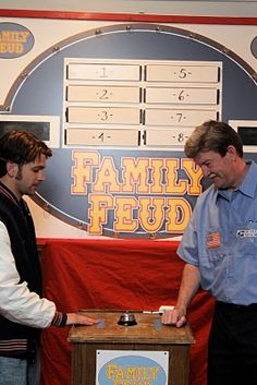 The Weisse Guys: family feud party