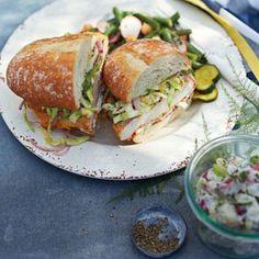 Ad Hoc Fried Chicken Sandwiches