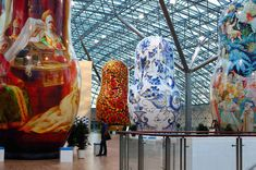 Giant Matryoshka dolls on show in Moscow