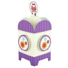 Owl Blossom Birthday Party Cardboard Table Centerpiece. Price: $6.49