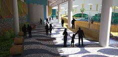 Propuesta para Terminal de Buses del Puerto de la Libertad, Acceso