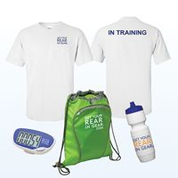 Get Your Rear in Gear Training Pack Thumbnail. On average 40% of each item sold will be donated by Fusion to the Colon Cancer Coalition/Get Your Rear In Gear® to help further the mission of colon cancer screening and community education. The donation amount varies for each item.