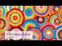 Mandalas a crochet , vídeo tutorial incluido | Manualidades                                                                                                                                                                                 Más