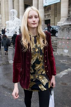 Iekeliene Stange gives us outfit inspo for the holidays