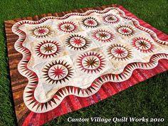 Canton Village Quilt Works: Blogger Quilt Festival Spring 2010 Edition. Judy Niemeyer pattern