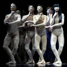 Danza contemporánea en Rumania.