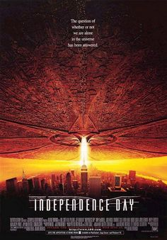 Independence Day (1996) a film by Roland Emmerich + MOVIES + Will Smith + Bill Pullman + Jeff Goldblum + Mary McDonnell + Judd Hirsch + Margaret Colin + Randy Quaid + Robert Loggia + James Rebhorn + Vivica A. Fox + Harry Connick, Jr. + cinema + Action + Adventure + Sci-Fi