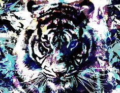 """Check out new work on my @Behance portfolio: """"Tiger"""" http://on.be.net/1LCLRzP"""