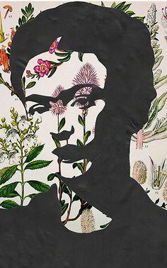 frida kahlo prints | georgiagraceart › Portfolio › Frida Kahlo Floral Print