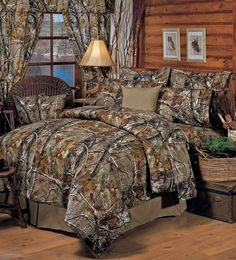 All Purpose Camouflage Comforter - Realtree