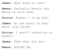 My headcanon is that Harry is as oblivious as James