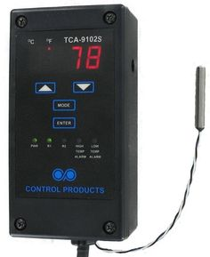 Control Products Single Stage High Voltage Digital Temperature Controller #ControlProducts