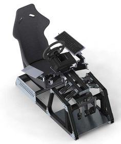 Afbeeldingsresultaat voor 3d model alu profile racing rig