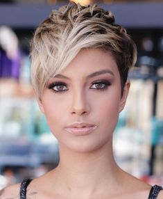 Today we have the most stylish 86 Cute Short Pixie Haircuts. We claim that you have never seen such elegant and eye-catching short hairstyles before. Pixie haircut, of course, offers a lot of options for the hair of the ladies'… Continue Reading → Stylish Short Haircuts, Short Haircut Styles, Cool Short Hairstyles, Short Pixie Haircuts, Long Hair Styles, Hairstyles Haircuts, Straight Haircuts, Hairstyle Short, Short Pixie Cuts