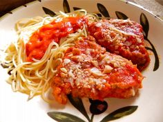 "Italian Comfort ""LOVE"" Food for Valentine's Day, Get the recipe for ""Chicken Parmesan"" from Maryann's Print & Video column! CLICK the photo!"