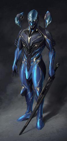 ArtStation - ION Volt - Bundle Concepts for Warframe Tennogen, Ahmed Yatus Hodzic Robot Concept Art, Weapon Concept Art, Armor Concept, Fantasy Character Design, Character Concept, Character Art, Fantasy Armor, Dark Fantasy Art, Sci Fi Fantasy