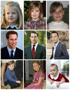 R4R Photo Spotlight: Heirs to the Heir  Infanta Leonor of Spain   Princess Alexia of the Netherlands* *as of April 30, 2013  Princess Ingrid Alexandra of Norway   Prince William, Duke of Cambridge (U.K.)  Prince Felix of Luxembourg   Andrea Casiraghi (Monaco)  Prince Christian of Denmark    Princess Elisabeth of Belgium   Princess Estelle of Sweden