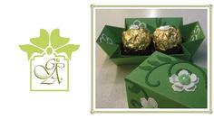 Ferrero Rocher Duo Drop Sided Treat or Favour Box ©  (Gift Box Tutorial / Gift Box DIY) - YouTube