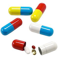 Pill Capsules.. to hold your pill capsules