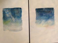 New paintings in progress
