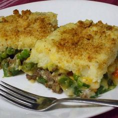The Mixture - Green Bean, Mashed Potato, Ground Beef Casserole Recipe