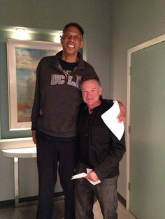 #Robin Williams #Kareem Abdul Jabbar