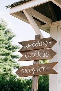 Cute rustic wedding sign {Photo by 52Forty Photography}