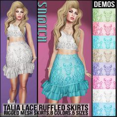 Sn@tch Talia Lace Skirts Vendor Ad LG | Flickr - Photo Sharing!