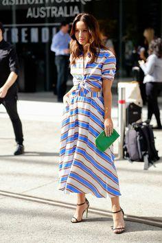99 Must-See Street Style Looks From Australian Fashion Week | StyleCaster
