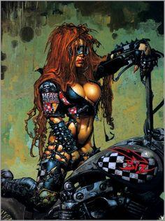 Heavy Metal Art | calendario 1999 heavy metal magazine