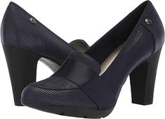 Anne Klein AK Sport Womens Xray Pump Navy 9 M US >>> Visit the image link more details. (This is an affiliate link)
