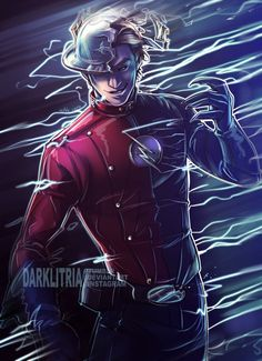 The Flash: Hunter Zolomon by DarkLitria Marvel Fanart, Marvel Dc Comics, Flash Comics, Dc Comics Art, Zoom The Flash, Flashpoint, Dc Speedsters, Flash Tv Series, Flash Wallpaper