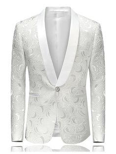 ede4b9c828a Blazer Elegante Cuello Camisero de Un Botón. Blazer SuitFall ...