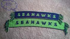 Seahawks Crochet Scarf   Craftsy