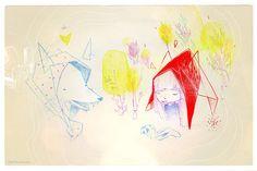 Very sweet illustration by Stephane Tartelin